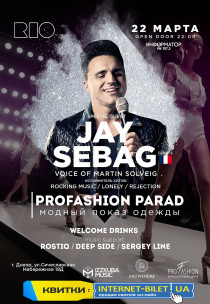 JAY SEBAG. PROFASHION PARAD