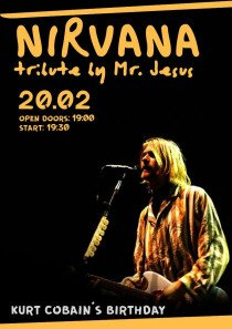 Nirvana tribute by Mr.Jesus